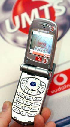UMTS-Handy: Vodafone startete mit dem Samsung Z105 den Mobilfunk der nächsten Generation
