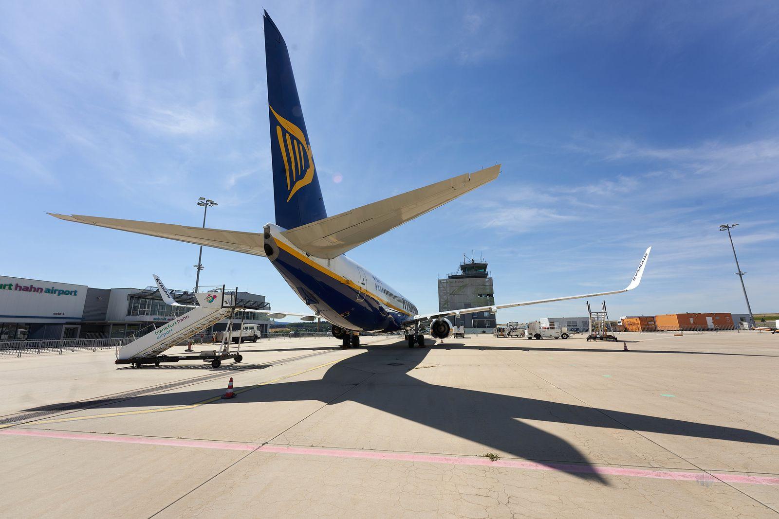 Ryanair will Basis am Flughafen Hahn schließen