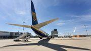 Ryanair macht weniger Verlust als befürchtet