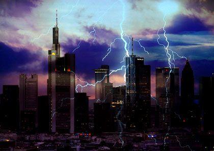 Unwetter bei Immobilien: Die Preise brechen für nahezu alle Lagen ein
