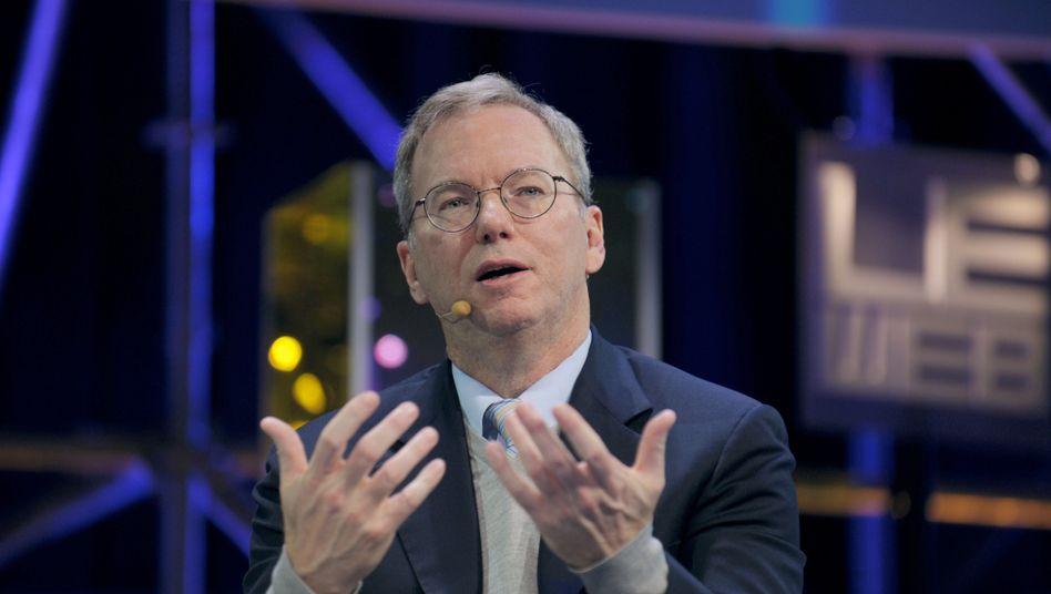 Gemachter Mann: Ex-Google-Chef Schmidt