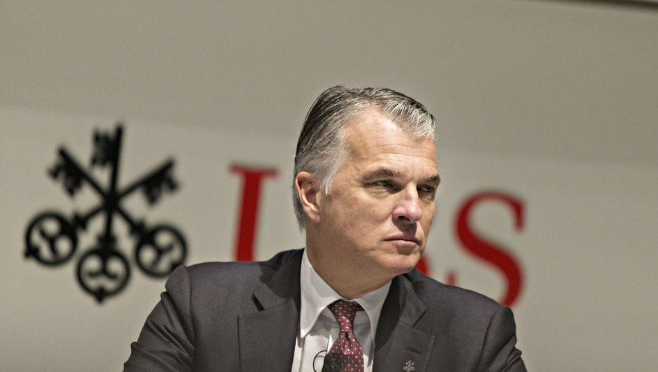 Sergio Ermotti: Der Chef der UBS wurde nicht entlastet, kann aber dennoch 14 Millionen Franken einstreichen