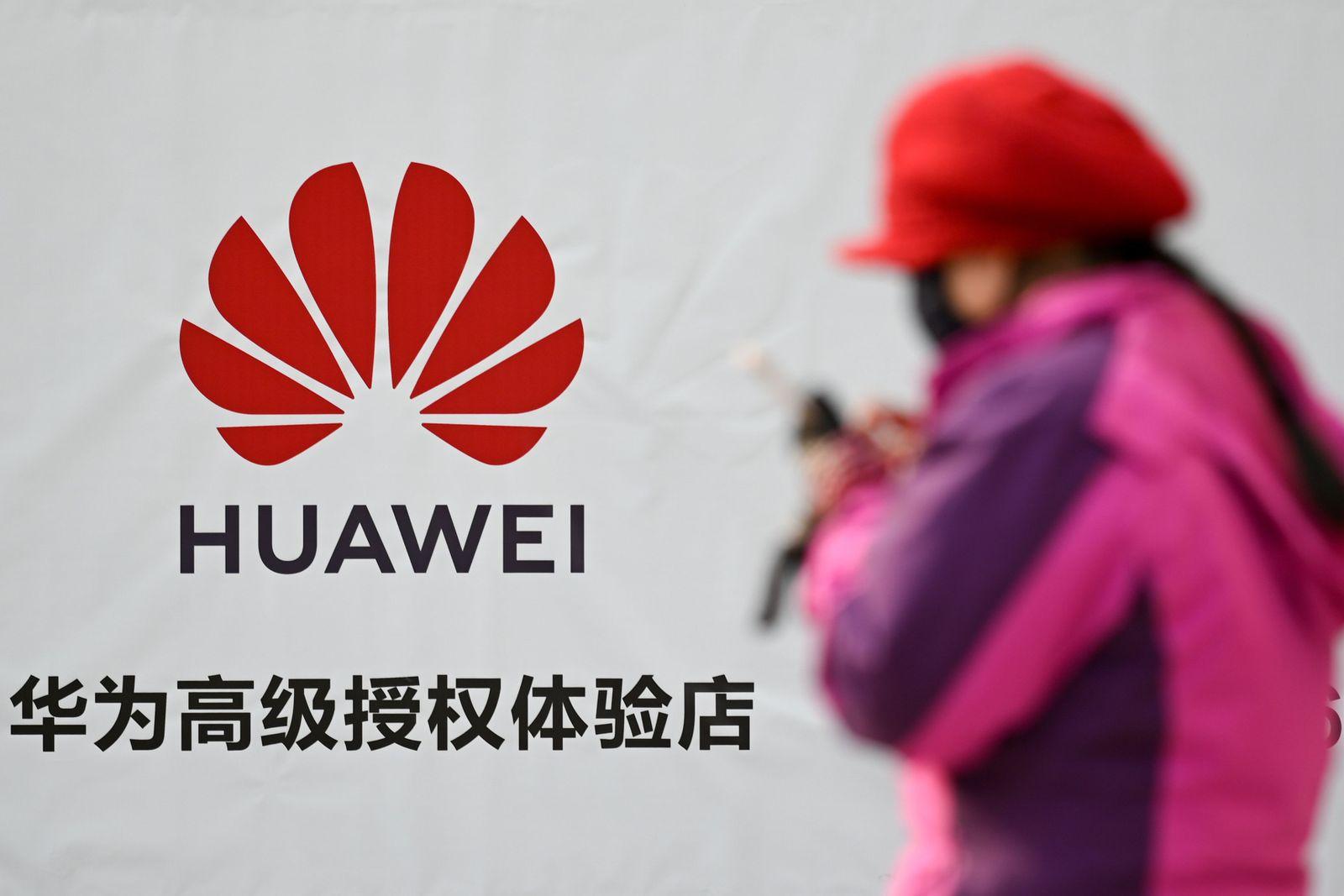 Huawei-Logo in Peking