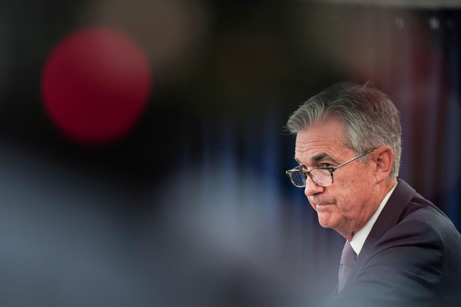 Federal Reserve Chair Jerome Powell holds a News Conference