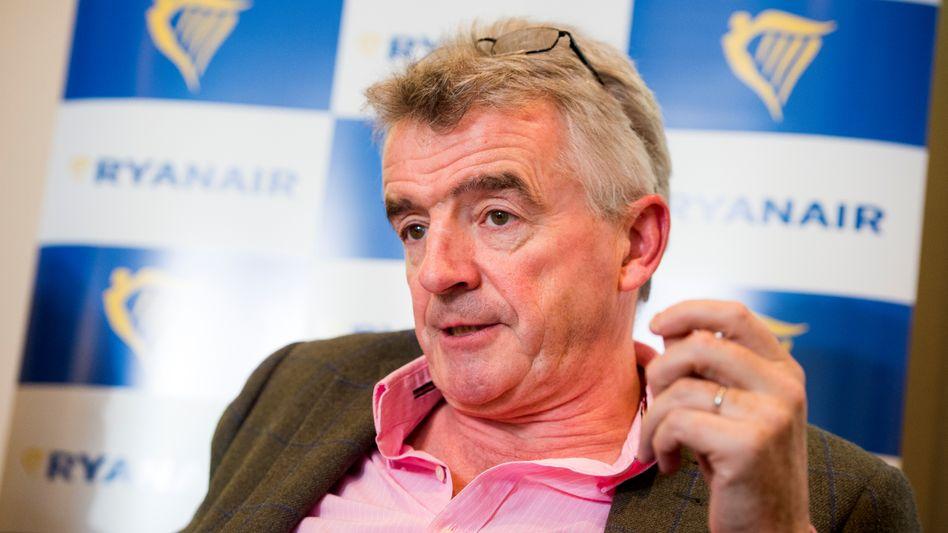 """Ryanair-Chef Michael O'Leary spricht von """"klarem Bruch"""" der Wettbewerbsregeln"""