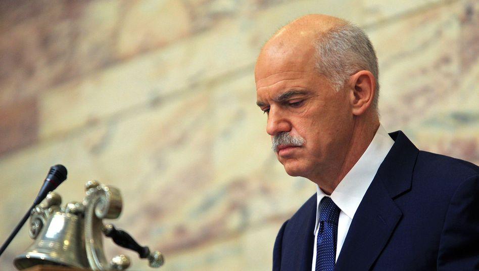 Ärger in Athen: Papandreou will die Griechen über das Rettungspaket abstimmen lassen