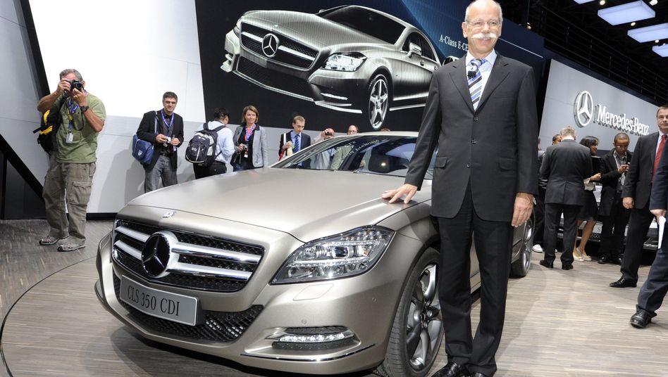 Daimler-Chef Dieter Zetsche: Größter Milliardengewinn unter den Dax-Konzernen