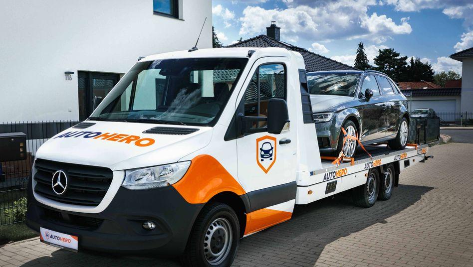 """Online bestellt bei Autohero.de: Die Auto1 Group betreibt mehrere Onlineplattformen, unter anderem auch """"WirkaufenDeinAuto.de"""""""