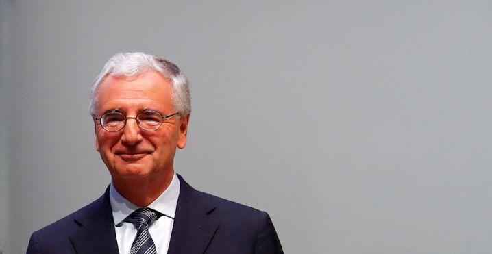 Geht: Paul Achleitner wird nach zehnjähriger Tätigkeit den Aufsichtsrat von Daimler verlassen