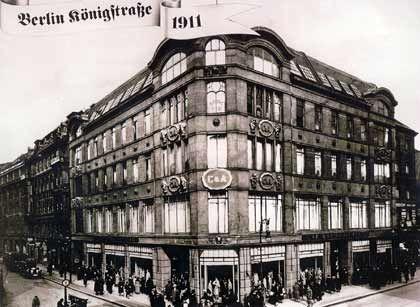Berlin 1911: Das erste C&A-Kaufhaus
