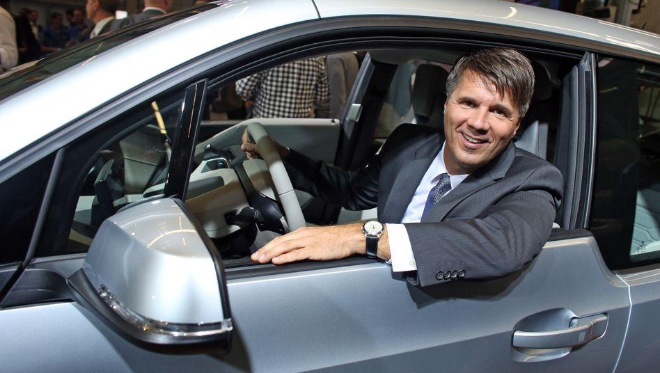 """BMW-Chef Harald Krüger: """"Elektromobilität wird die entscheidende Rolle spielen"""""""