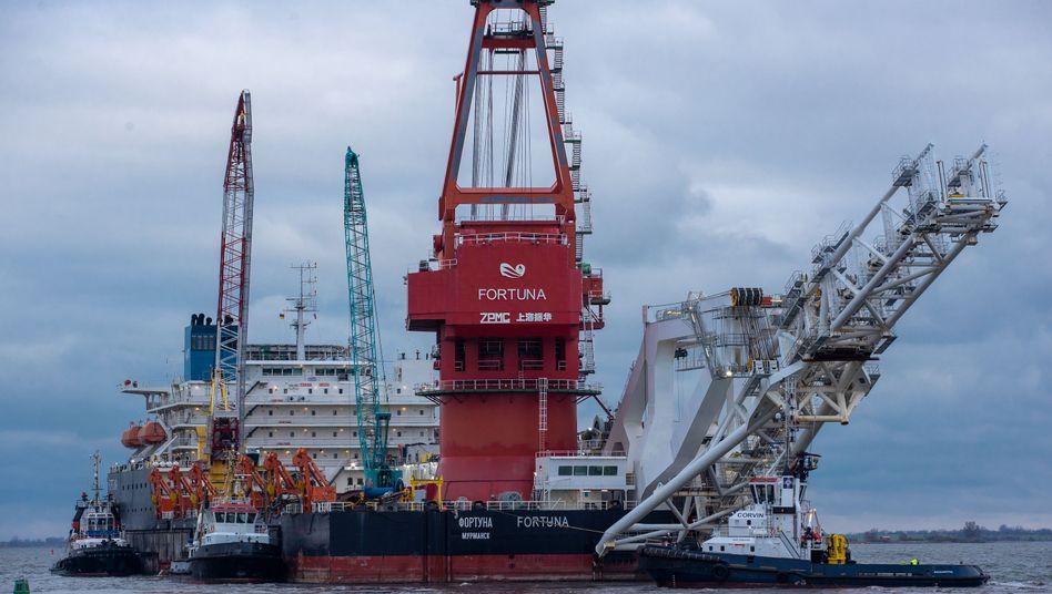 """""""Fortuna"""" ohne Glück: US-Saktionen treffen das russische Rohrverlegeschiff """"Fortuna"""" und seine Eigner als erste"""