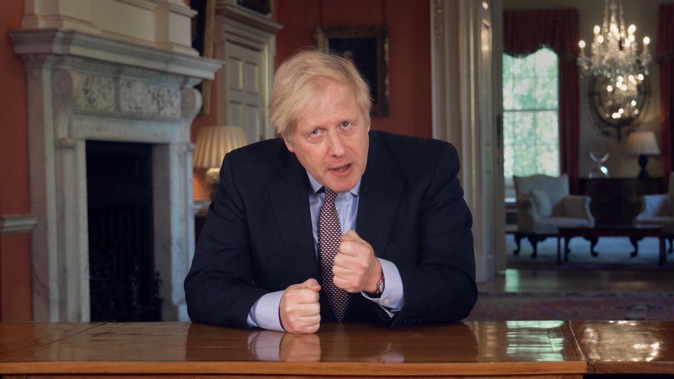 Boris Johnson: Der britische Premierminister steht weiter zu seinem harten Brexit-Kurs