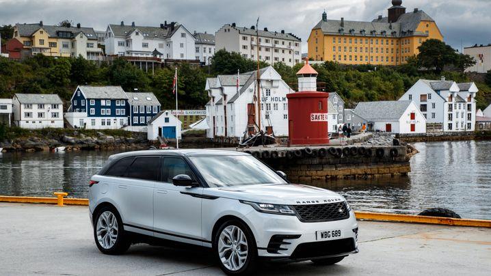 Range Rover Velar: Das Designer-SUV