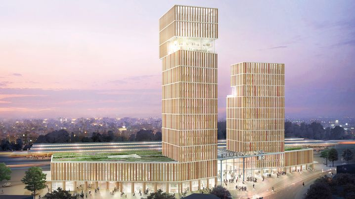 Neubau Bahnhof-Altona: So soll der neue Bahnhof aussehen - oder so
