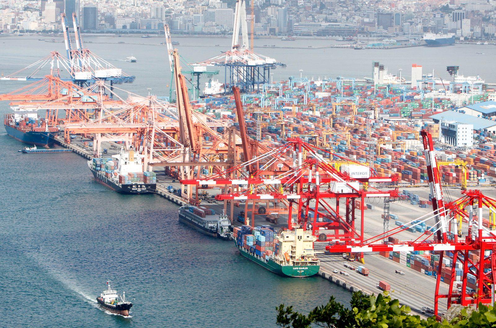 Hafen Ranking / Busan