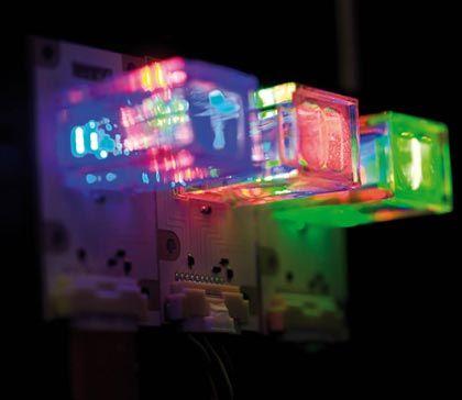 Licht aus Kristallen: LEDs können das natürliche Licht darstellen