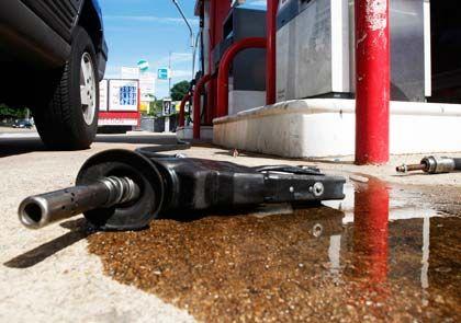 Unter Druck: Der Ölpreis fällt infolge von Zukunftssorgen