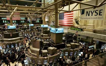 Gute Nachrichten: An den Börsen in New York überwiegt die positive Stimmung