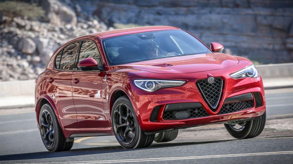Alfa Romeo-SUV Stelvio: FiatChryslers Fusionspläne mit Renault sind erstmal vom Tisch, die Brautschau mithilfe schicker Konzerntochtermarken wird weitergehen
