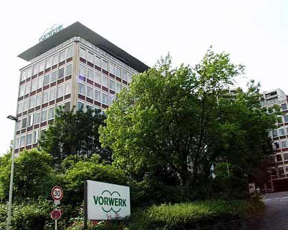 Bollwerk gegen die Konsumflaute: Vorwerk Hauptsitz in Wuppertal