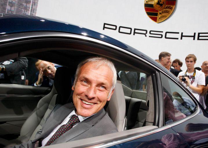 Voll im Saft: Anfang der Zehnerjahre präsentierte Matthias Müller einen Porsche 911