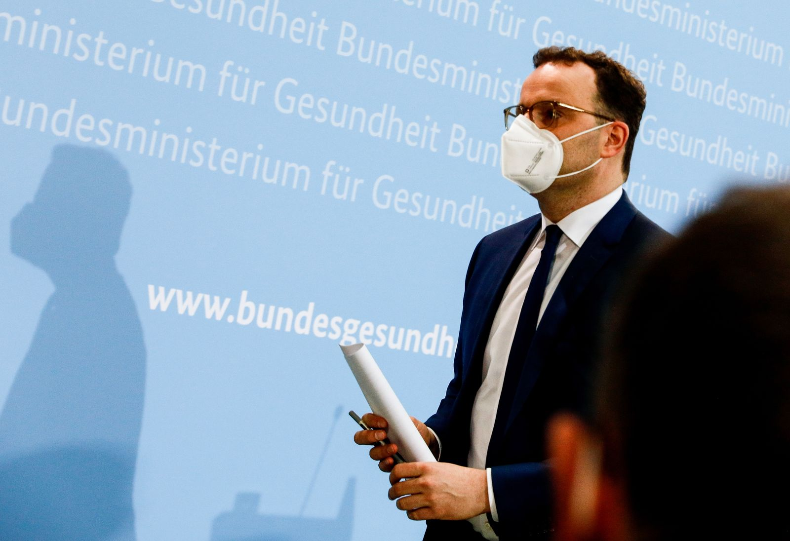 German Health Minister Jens Spahn presser