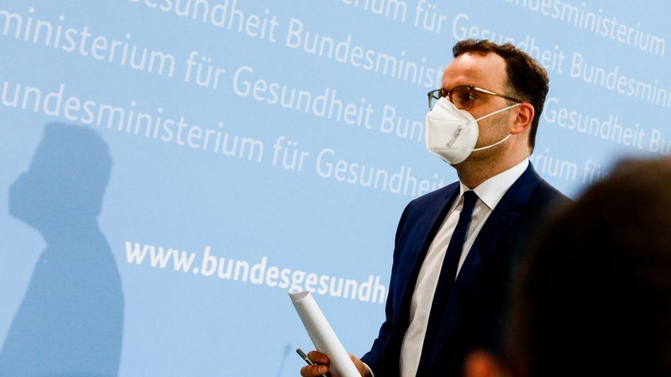 Der Nächste, bitte: Gesundheitsminister Jens Spahn gibt in der Corona-Pandemie keine gute Figur ab
