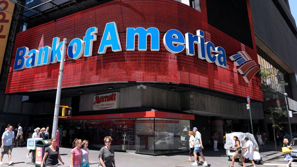 Milliardenschwerer Vergleich: Die Bank of America hat sich mit der US-Regierung geeinigt - und zahlt