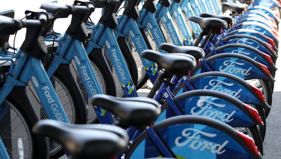 Leihfahräder in San Francisco: Lyft hat mit Motivate den größten Bikesharing-Anbieter der USA gekauft