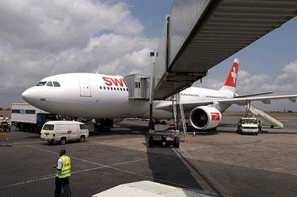 Hinflug: Mit der Swiss geht es nach Nairobi