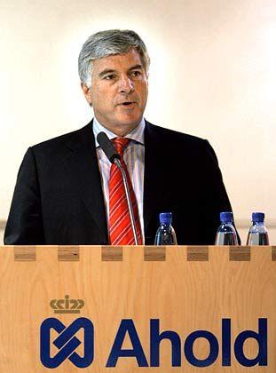 Legt sein Amt nieder: Ahold-CEO Moberg