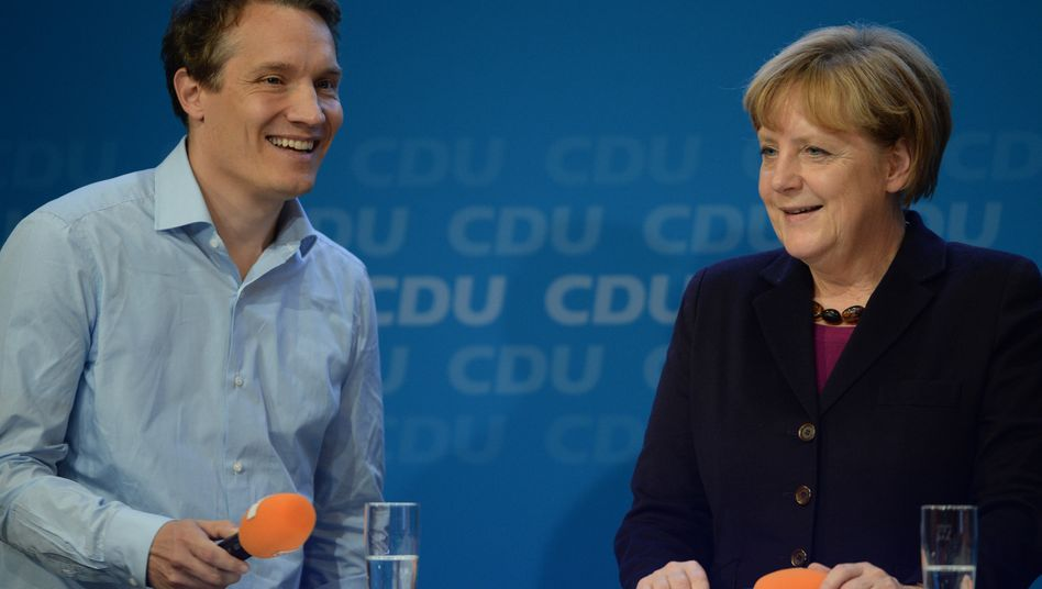 """Wünsch Dir was: """"Jetzt sagen sie doch mal, was sie noch wollen"""", forderte Bundeskanzlerin Angela Merkel Rocket-Internet-Chef Oliver Samwer auf"""