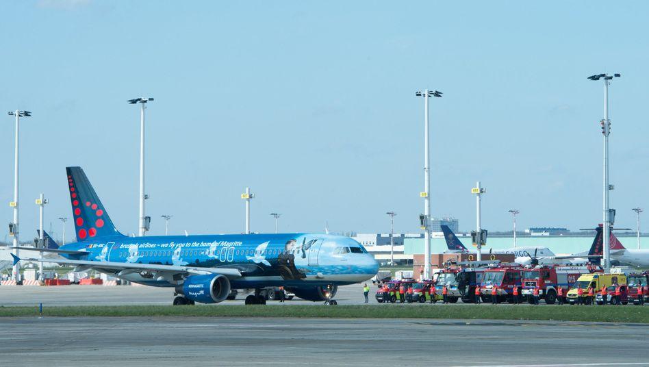 Brussels-Airlines-Maschine: Künftig als Eurowings unterwegs?