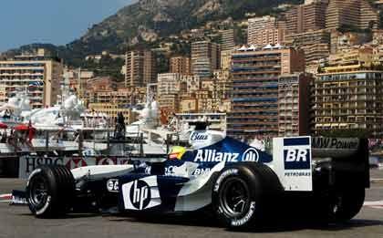BMW beim Grand Prix in Monaco: Platz zwölf im freien Training