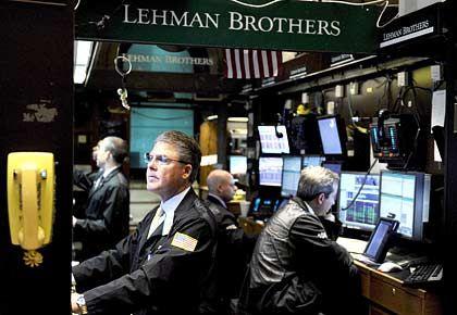 Monday, Monday: Der Wochenbeginn erscheint bedrohlich für Lehman