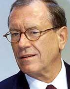 Verlierer: Jürgen Schrempp (DaimlerChysler)