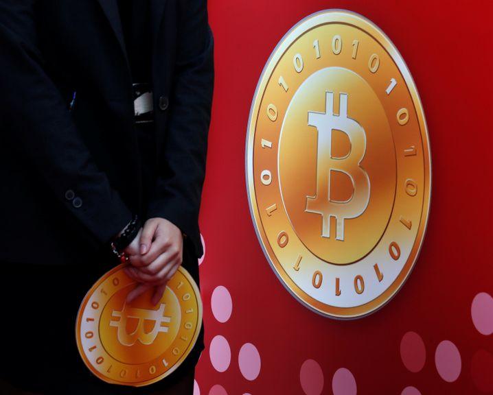 Eröffnung des ersten Geschäfts in Hong Kong, das Bitcoin akzeptiert (Archivbild, 2014)