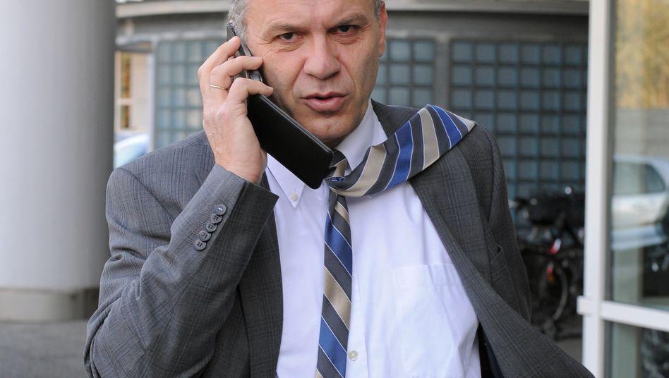 Neuerdings für die Deutsche Bahn auf Sendung: Ex-Finanzstaatssekretär Werner Gatzer (Archivbild aus 2014).