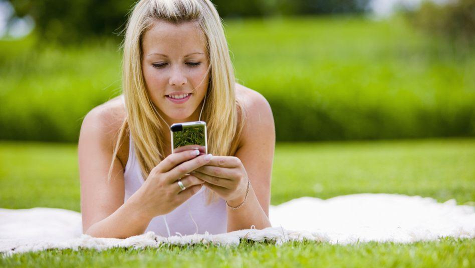 Smartphones im Trend: Das mobile Internet hat ein extrem hohes Marktpotential
