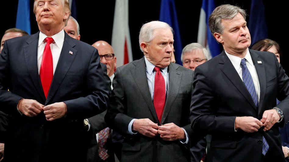 Trump, Sessions: Wer Trump als Chef hat, braucht keine Feinde mehr