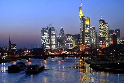 Frankfurt: Erleichterung über das Bankenviertel