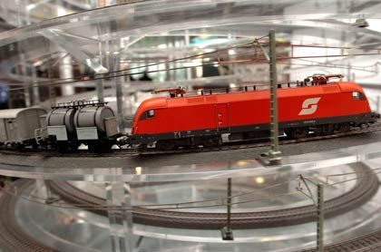Moderne Schönheit: Güterlok der Reihe 659 der Österreichischen Bundesbahnen