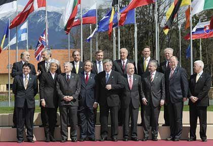 Gemeinsam die Finanzaufsicht verbessern: Die europäischen Finanzminister in Brdo