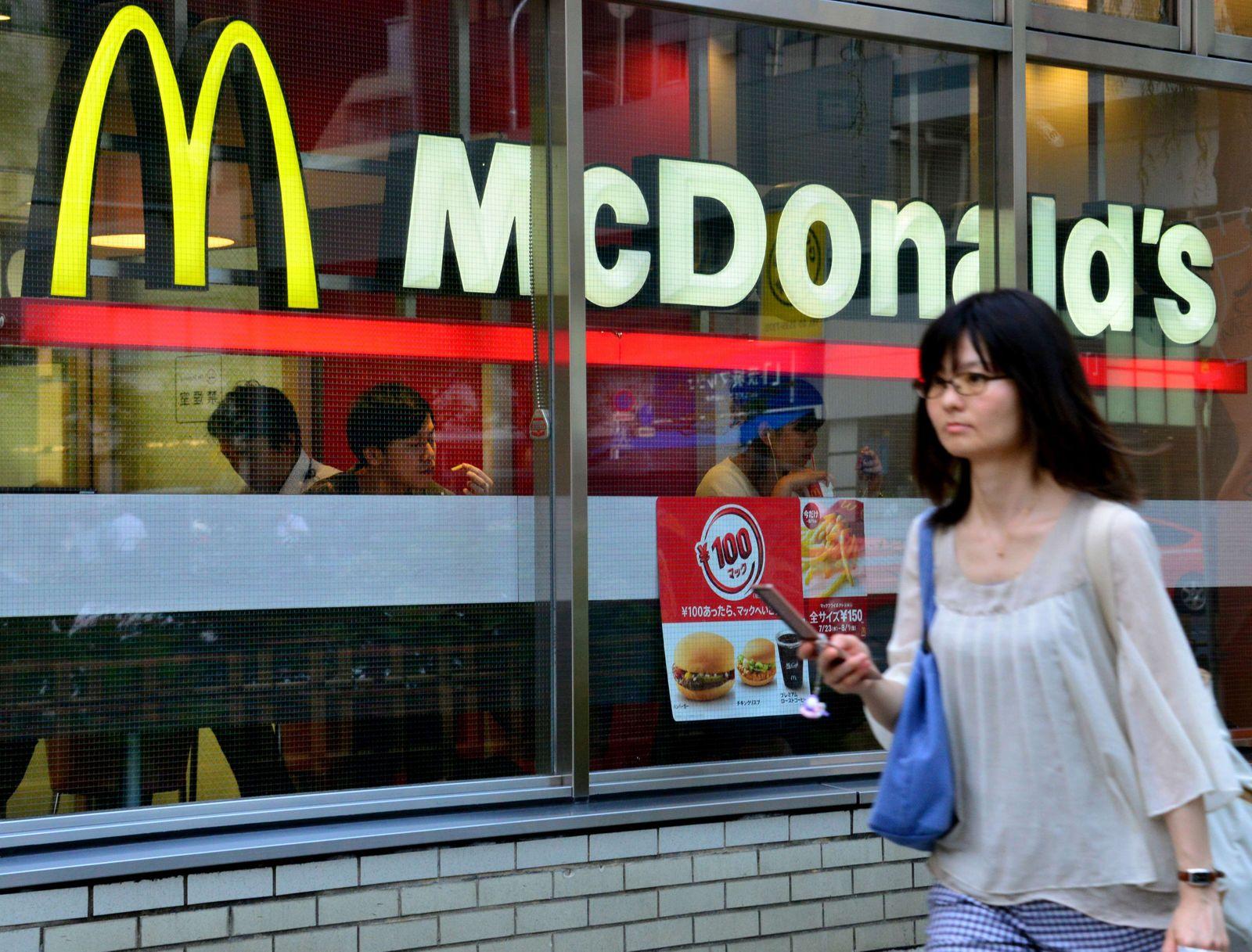 McDonalds / Tokio / Japan / 6o Jahre