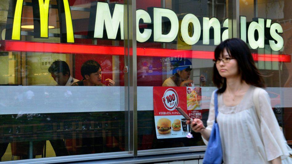 McDonald's-Restaurant in Tokio: Asien ist die nächste Baustelle des Fast-Food-Riesen