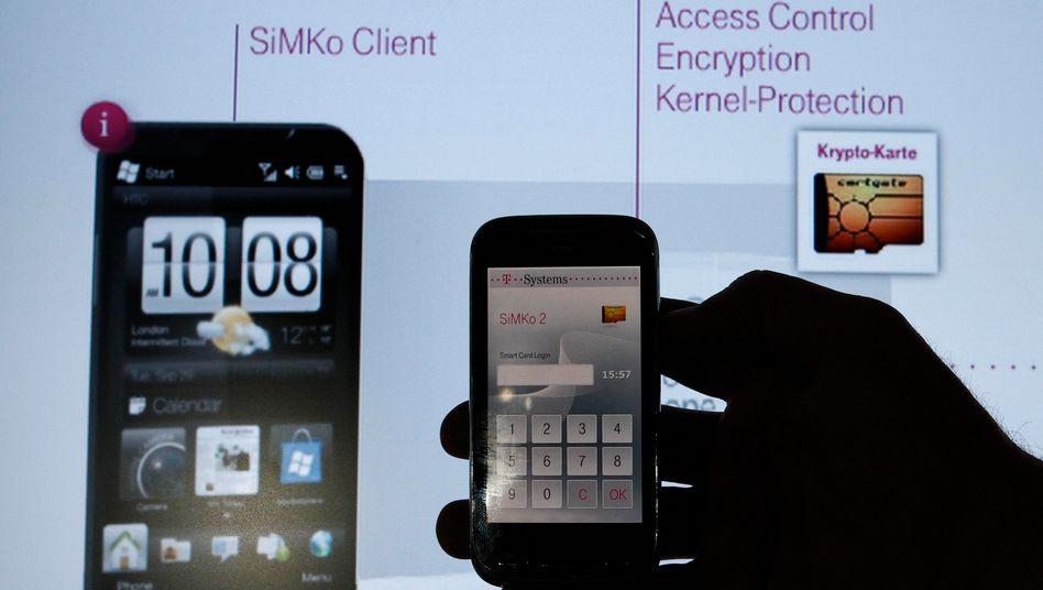 """Vorgänger """"SiMko 2"""": Die Abkürzung steht für """"Sichere Mobilkommunikation"""""""