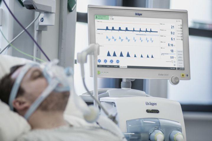 Gefragt wie Klopapier und Desinfektionsmittel: Beatmungsgerät des Medizintechnikherstellers Dräger
