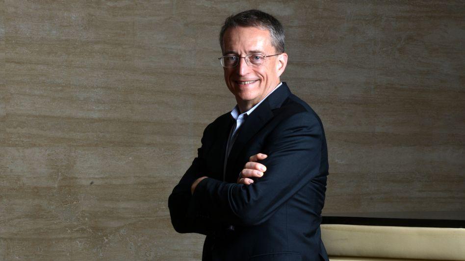 """Umkämpfte Halbleiterindustrie: Intel-Chef Patrick """"Pat"""" Gelsinger plant neue Produktionen in den USA."""