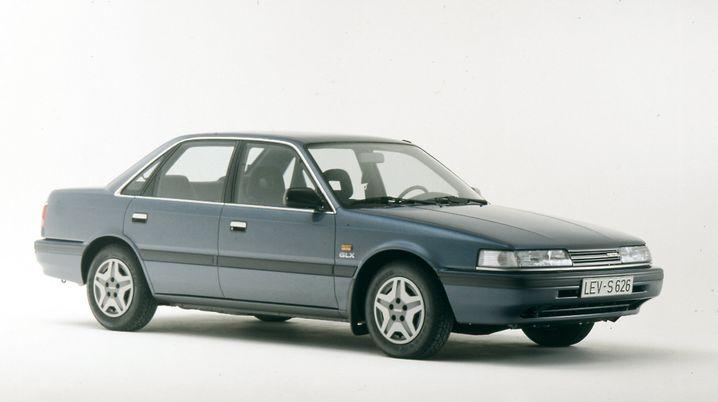 Japanischer Herbst: Ende 1987 kam die dritte Auflage des Mazda-Flaggschiffs 626 erstmals zu den deutschen Kunden.